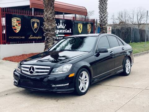 2013 Mercedes-Benz C-Class for sale at Texas Auto Corporation in Houston TX