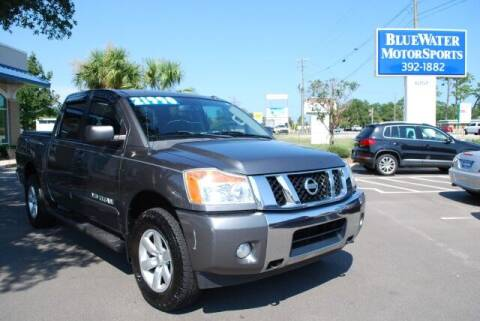 2013 Nissan Titan for sale at BlueWater MotorSports in Wilmington NC