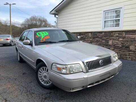 2006 Mercury Grand Marquis for sale at No Full Coverage Auto Sales in Austell GA