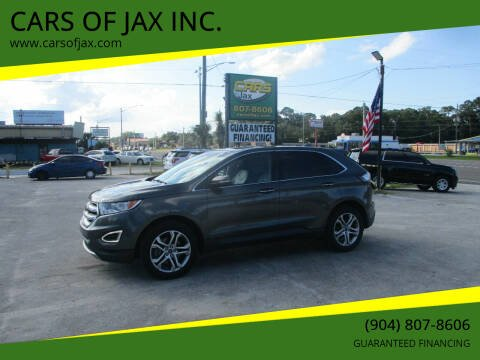 2016 Ford Edge for sale at CARS OF JAX INC. in Jacksonville FL