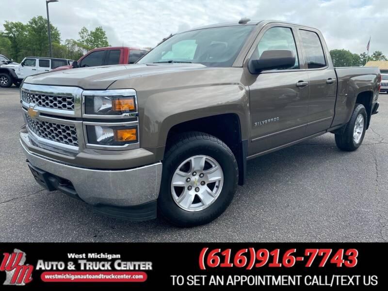 2015 Chevrolet Silverado 1500 for sale at West Michigan Auto and Truck Center in Cedar Springs MI