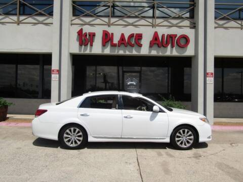 2011 Toyota Avalon for sale at First Place Auto Ctr Inc in Watauga TX