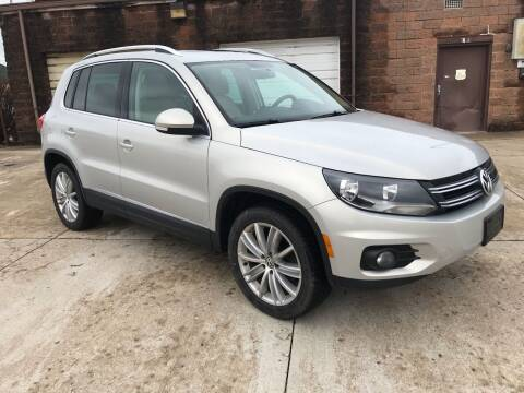 2012 Volkswagen Tiguan for sale at Best Deal Auto Sales in Saint Charles MO