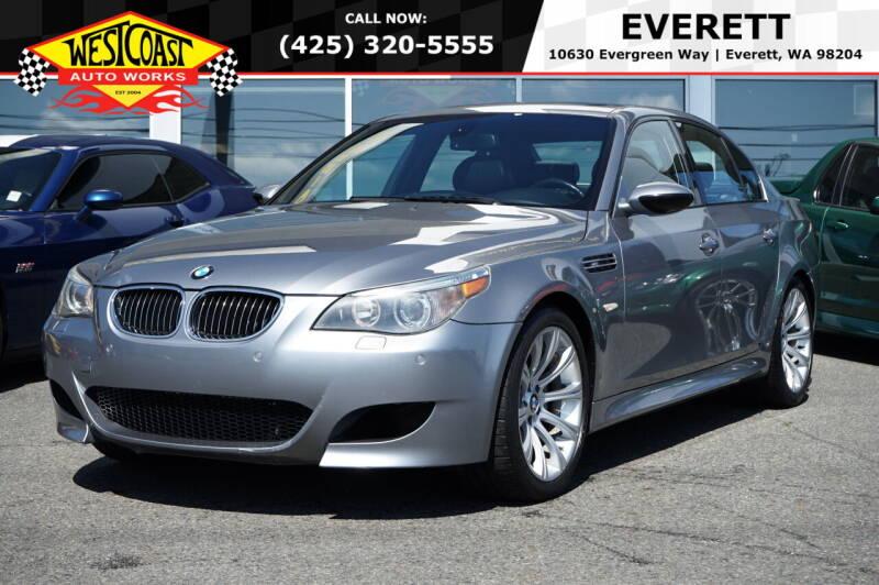 2006 BMW M5 for sale at West Coast Auto Works in Edmonds WA