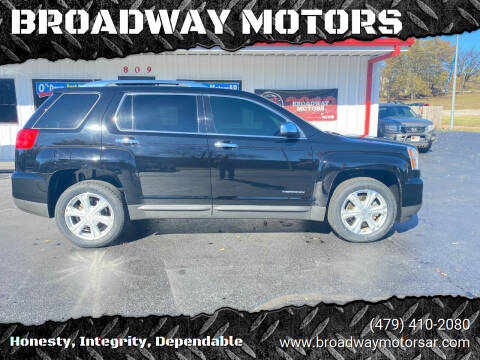 2017 GMC Terrain for sale at BROADWAY MOTORS in Van Buren AR