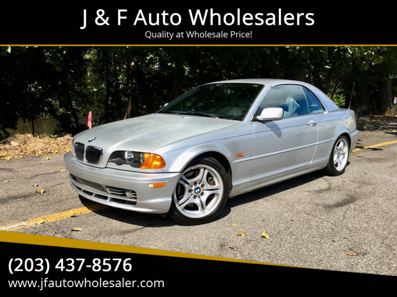 2001 BMW 3 Series for sale at J & F Auto Wholesalers in Waterbury CT