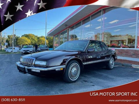 1993 Buick Riviera for sale at USA Motor Sport inc in Marlborough MA