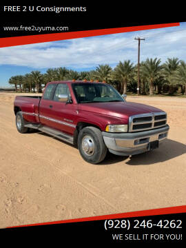 1995 Dodge Ram Pickup 3500 for sale at FREE 2 U Consignments in Yuma AZ