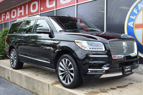 2020 Lincoln Navigator L for sale at Alfa Romeo & Fiat of Strongsville in Strongsville OH