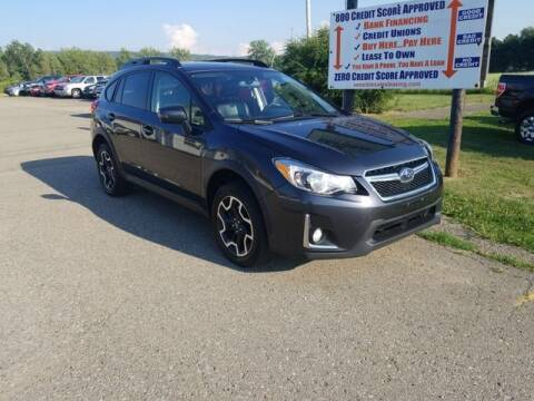 2016 Subaru Crosstrek for sale at Sensible Sales & Leasing in Fredonia NY
