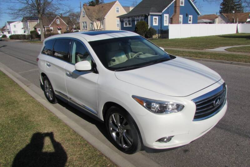 2013 Infiniti JX35 for sale at First Choice Automobile in Uniondale NY