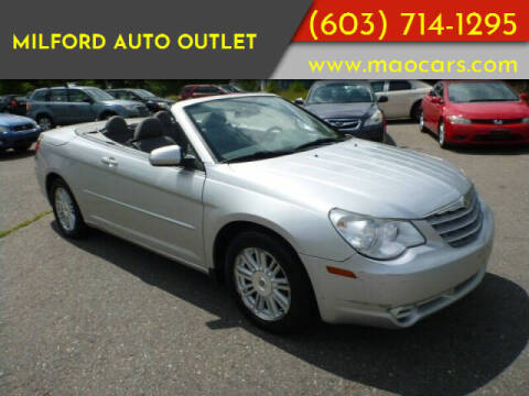 2008 Chrysler Sebring for sale at Milford Auto Outlet in Milford NH