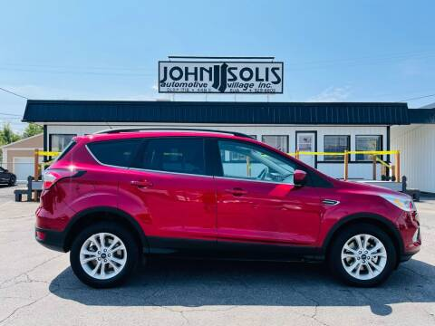 2017 Ford Escape for sale at John Solis Automotive Village in Idaho Falls ID