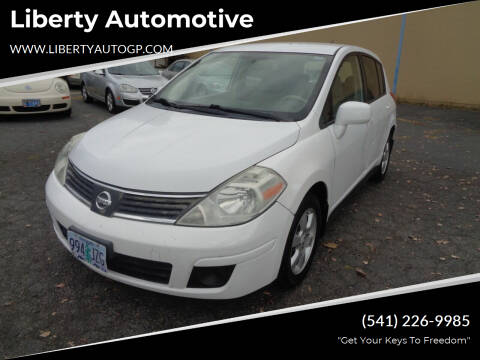 2008 Nissan Versa for sale at Liberty Automotive in Grants Pass OR