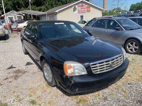 2001 Cadillac DeVille for sale at Trocci's Auto Sales in West Pittsburg PA
