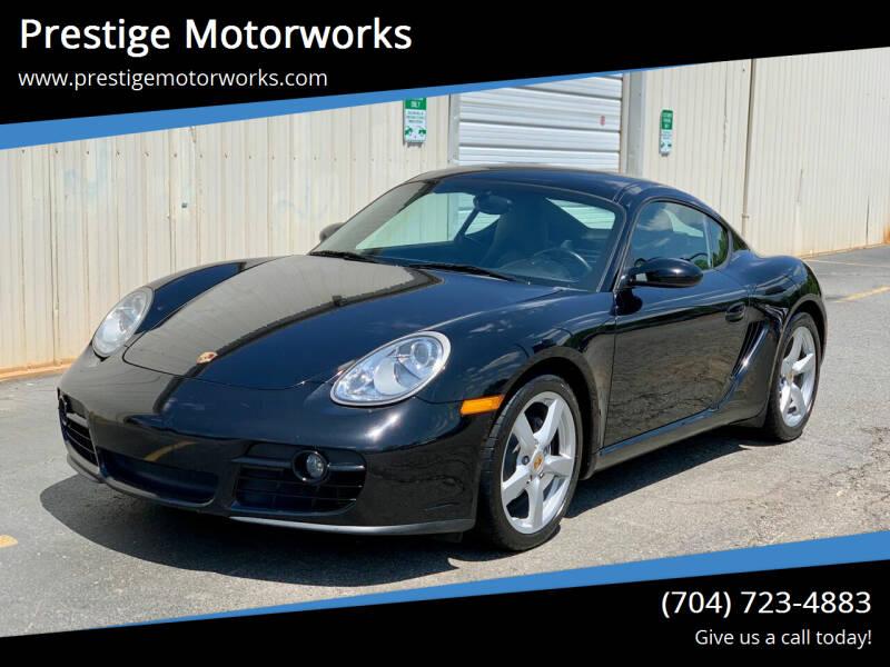 2008 Porsche Cayman for sale at Prestige Motorworks in Concord NC