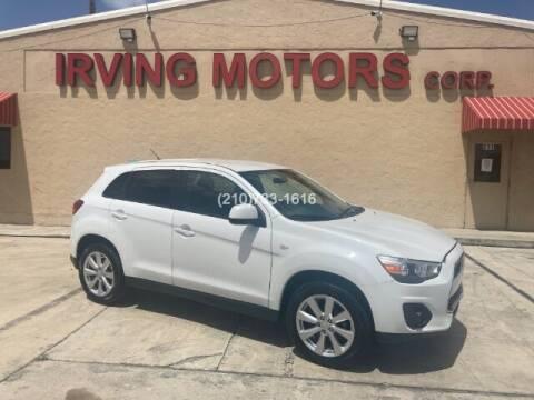 2015 Mitsubishi Outlander Sport for sale at Irving Motors Corp in San Antonio TX