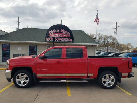 2016 Chevrolet Silverado 1500 for sale at DICK'S MOTOR CO INC in Grand Island NE