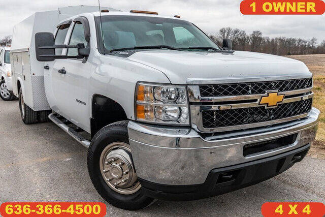 2012 Chevrolet Silverado 3500HD for sale at Fruendly Auto Source in Moscow Mills MO