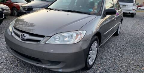 2004 Honda Civic for sale at JM Auto Sales in Shenandoah PA
