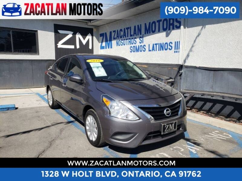 2016 Nissan Versa for sale at Ontario Auto Square in Ontario CA