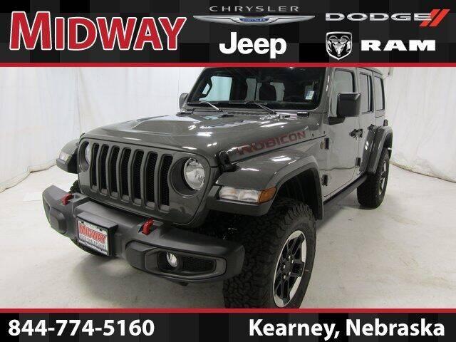 2021 Jeep Wrangler Unlimited for sale in Kearney, NE