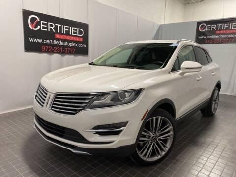2016 Lincoln MKC for sale at CERTIFIED AUTOPLEX INC in Dallas TX