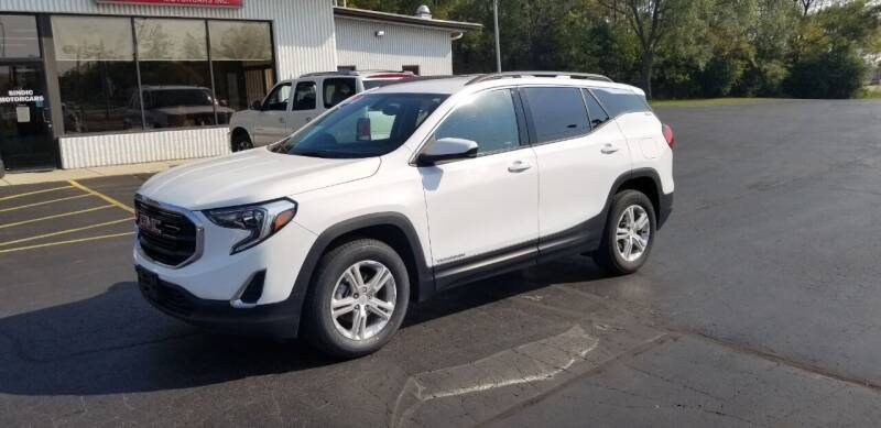 2018 GMC Terrain for sale at SINDIC MOTORCARS INC in Muskego WI