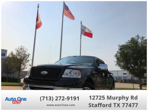 2006 Ford F-150 for sale at Auto One USA in Stafford TX