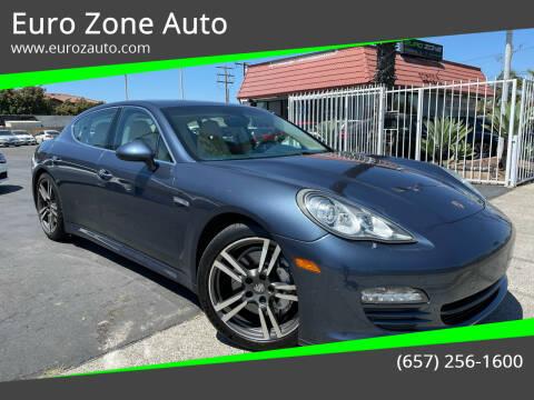 2012 Porsche Panamera for sale at Euro Zone Auto in Stanton CA