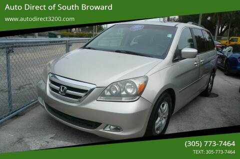 2006 Honda Odyssey for sale at Auto Direct of South Broward in Miramar FL