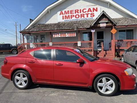 2013 Dodge Avenger for sale at American Imports INC in Indianapolis IN