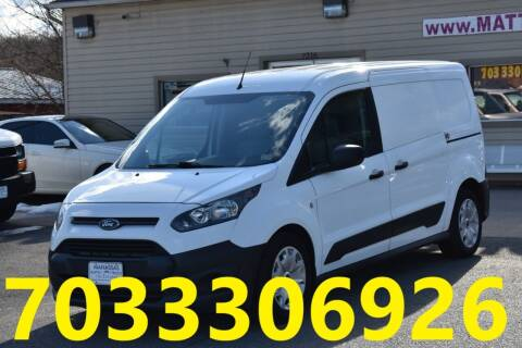 2017 Ford Transit Connect Cargo for sale at MANASSAS AUTO TRUCK in Manassas VA