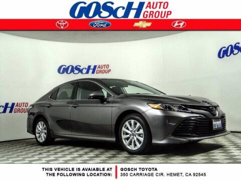 2020 Toyota Camry for sale at BILLY D SELLS CARS! in Temecula CA