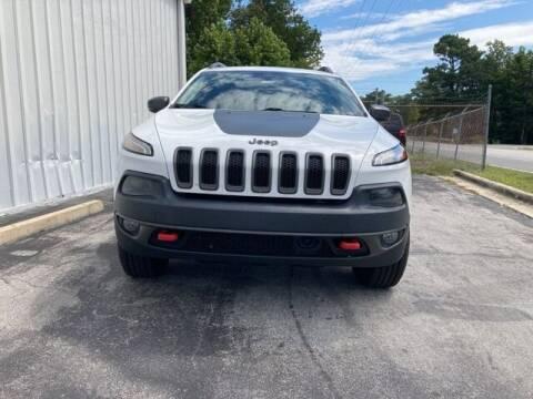 2017 Jeep Cherokee for sale at Riverside Mitsubishi(New Bern Auto Mart) in New Bern NC