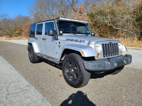 2007 Jeep Wrangler Unlimited for sale at Premium Auto Outlet Inc in Sewell NJ