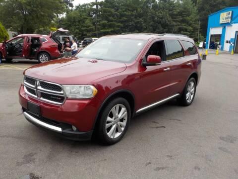 2013 Dodge Durango for sale at RTE 123 Village Auto Sales Inc. in Attleboro MA