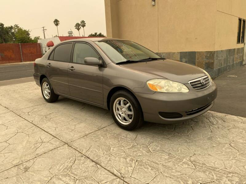 2007 Toyota Corolla for sale at Exceptional Motors in Sacramento CA