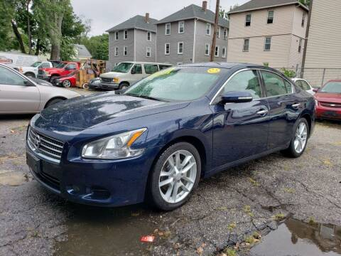 2010 Nissan Maxima for sale at Devaney Auto Sales & Service in East Providence RI