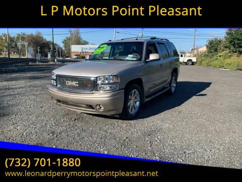 2005 GMC Yukon for sale at L P Motors Point Pleasant in Point Pleasant NJ