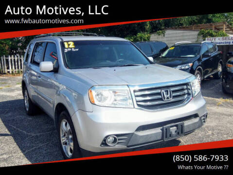 2012 Honda Pilot for sale at Auto Motives, LLC in Fort Walton Beach FL