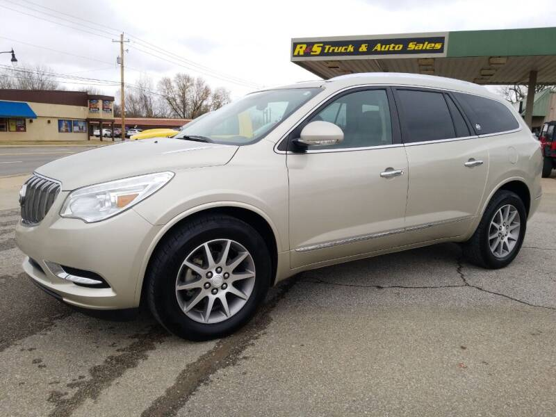 2014 Buick Enclave for sale at R & S TRUCK & AUTO SALES in Vinita OK
