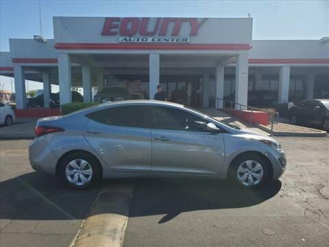 2016 Hyundai Elantra for sale at EQUITY AUTO CENTER in Phoenix AZ