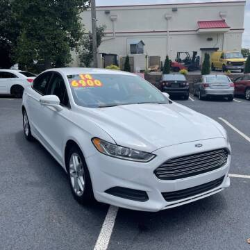 2014 Ford Fusion for sale at Auto Bella Inc. in Clayton NC