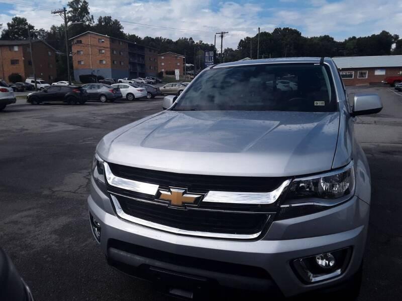 2018 Chevrolet Colorado for sale at Auto Villa in Danville VA