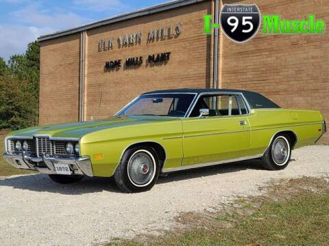 1972 Ford Galaxie 500 for sale at I-95 Muscle in Hope Mills NC