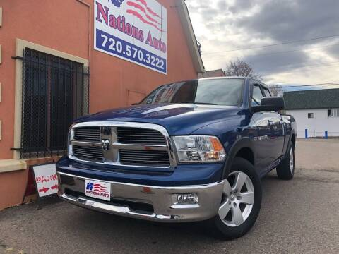 2011 RAM Ram Pickup 1500 for sale at Nations Auto Inc. II in Denver CO