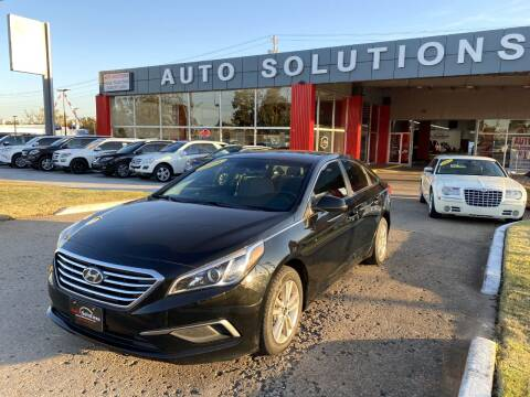 2016 Hyundai Sonata for sale at Auto Solutions in Warr Acres OK