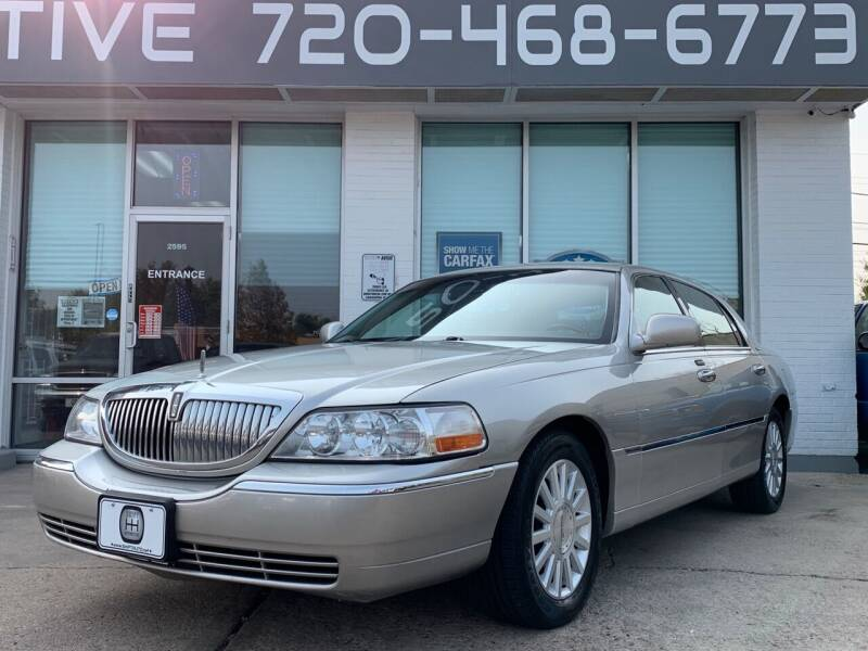 2003 Lincoln Town Car for sale at Shift Automotive in Denver CO