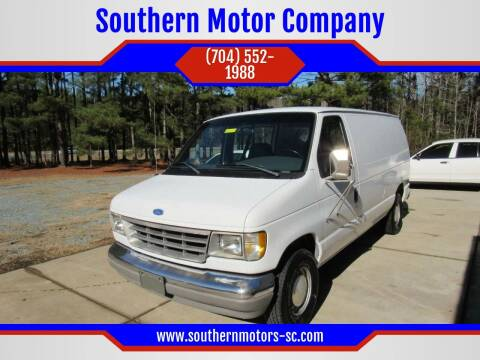 1996 Ford E-150 for sale at Southern Motor Company in Lancaster SC